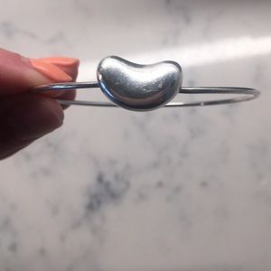 Sterling Silver Tiffany Bean Bracelet